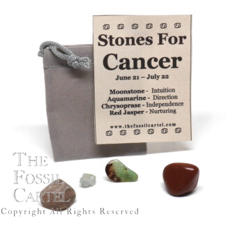Stones for Cancer Zodiac Pouch