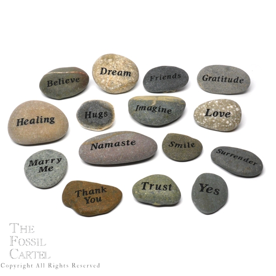 Etched stones