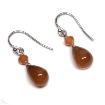 Carnelian Agate Earrings