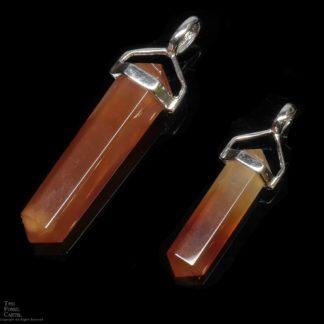 Carnelian Crystal Pendant
