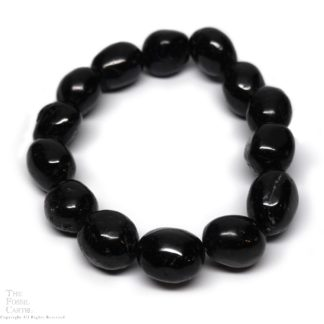Tumbled Black Tourmaline Bracelet