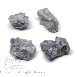 Rough Blue Calcite Pieces