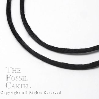 Black Silky Rayon Cord