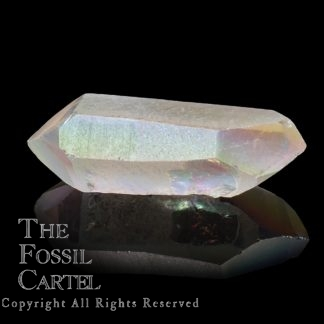 Angel Aura Quartz Double Terminated Crystal Point