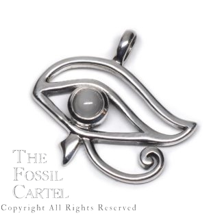Eye of Horus with Moonstone