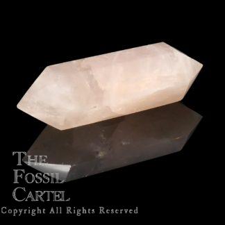Rose Quartz Polished Double Terminated Crystal Point