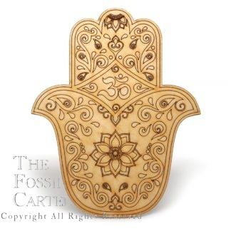 Fatima Hand Crystal Grid