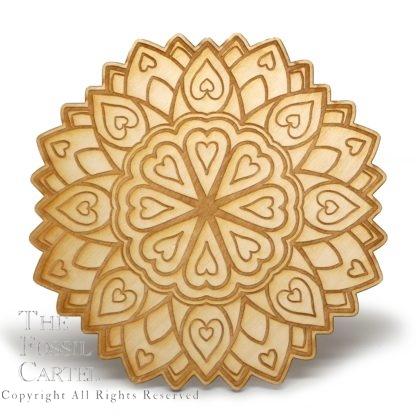 Heart Mandala Crystal Grid