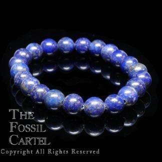 Lapis Round Beaded Bracelet