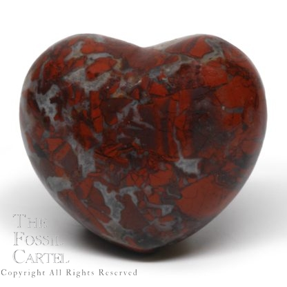 Brecciated Jasper Heart