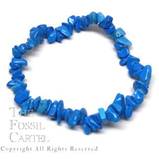 Dyed Howlite Chip Bracelet