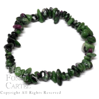 Ruby in Zoisite Chip Bracelet