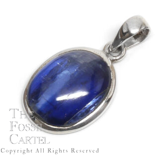 Kyanite Oval Sterling Silver Pendant