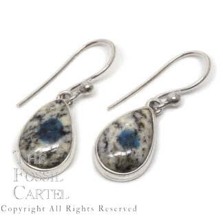 K2 Teardrop Sterling Silver Earrings