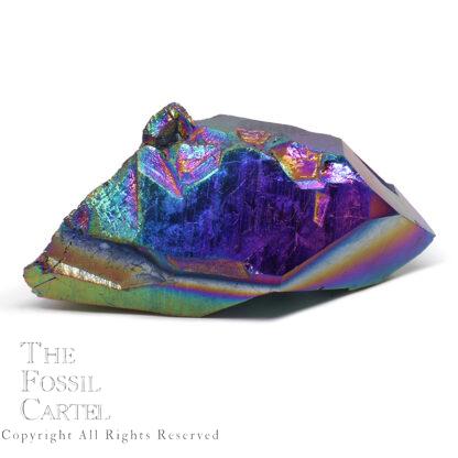 Aurora Quartz Crystal Point