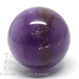 Ametrine sphere