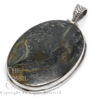 Morrisonite Sterling Silver Pendant